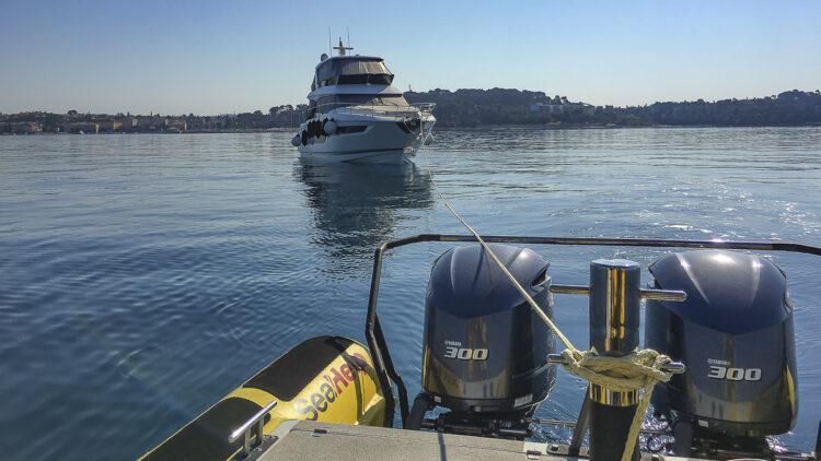"""<span class=""""dachzeile"""">Teil 1: Schiffe, Boote, Yachten richtig abschleppen<span>: </span></span>Die richtige Technik beim Abschleppen bewahrt vor Schäden 2"""