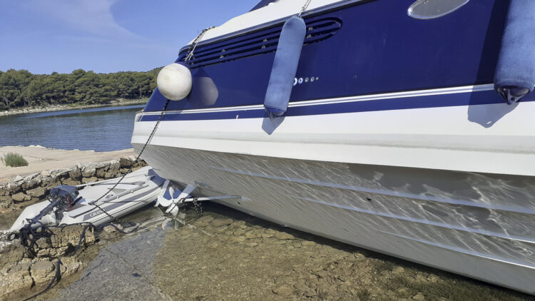 Croatian compulsory insurance for boat and yacht: lack of coverage.