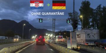 Deutschland: Keine Quarantäne bei Einreise aus Kroatien