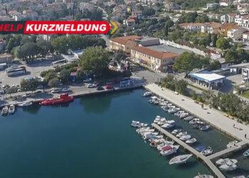 INA-Tankstelle im Stadthafen Krk wieder geöffnet