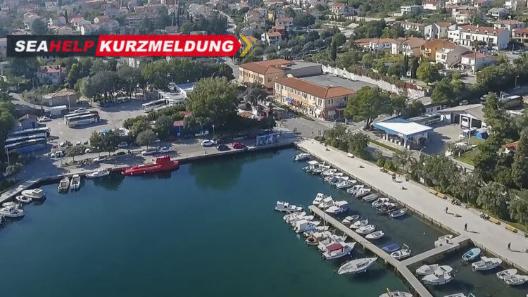 INA gas station in the city port of Krk reopened