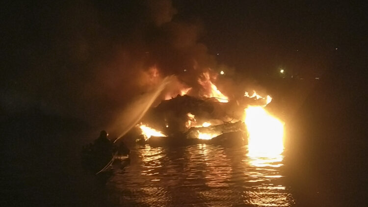 "<span class=""dachzeile"">Yachten fielen Flammen zum Opfer<span>: </span></span>Großbrand in der Marina Kaštela verursacht Millionenschaden 25"