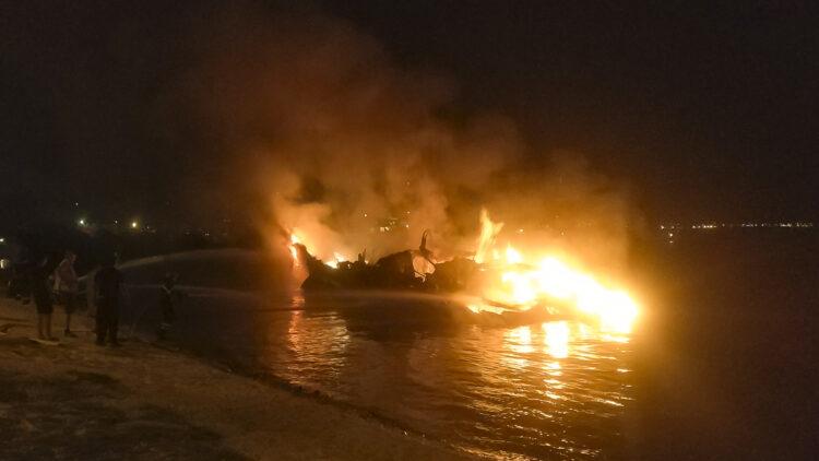 "<span class=""dachzeile"">Yachten fielen Flammen zum Opfer<span>: </span></span>Großbrand in der Marina Kaštela verursacht Millionenschaden 28"