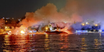 Major fire in Marina Kastela: damage in the millions, numerous yachts many victims of the flames