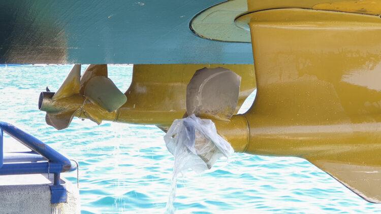 Schäden an Propellern durch Ketten