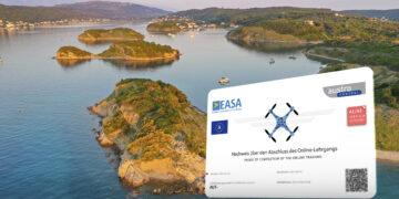 Drone license: EU drone license / the EU certificate of competence