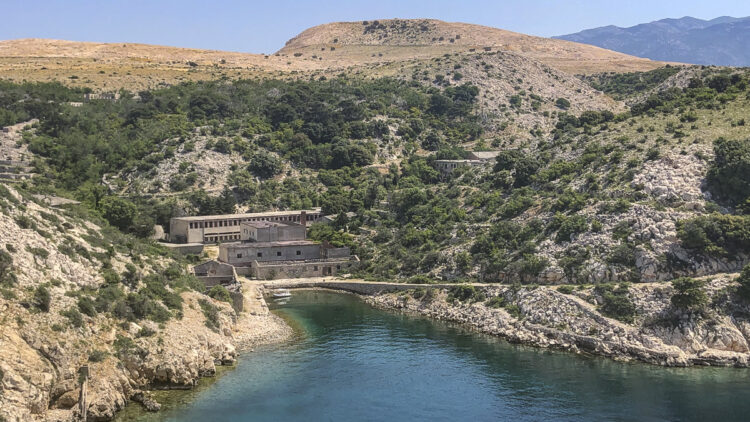 Kroatien / Kvarner Insel Goli Otok: Bucht Mala Draga