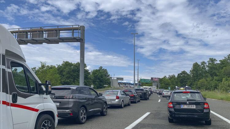 Congestion border Croatia / Slovenia: Alternative route
