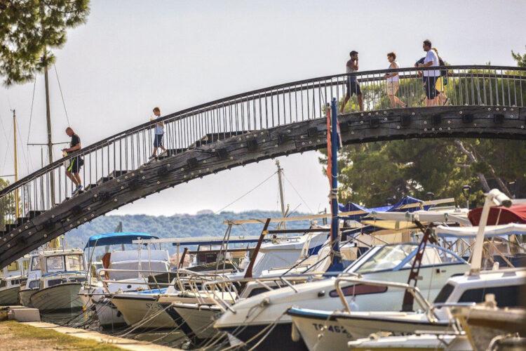 Brücke zur Altstadt Trogir
