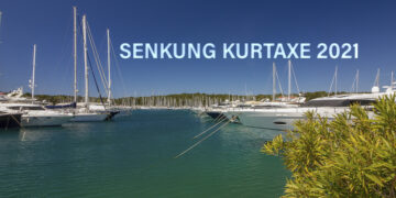 Tourist tax Croatia: Reduced by 20% for skippers.