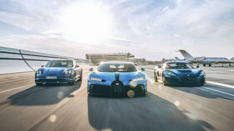 E-mobility pioneer Rimac signs joint venture with Bugatti: Is the Niniette 66 yacht coming to match the car after all?