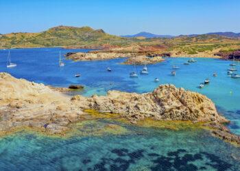 Revier Menorca - Törn um die Insel: Badebucht Cala Pregonda