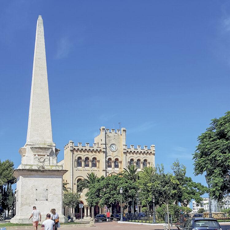 Revier Menorca - Törn um die Insel: Rathaus von Ciutadella