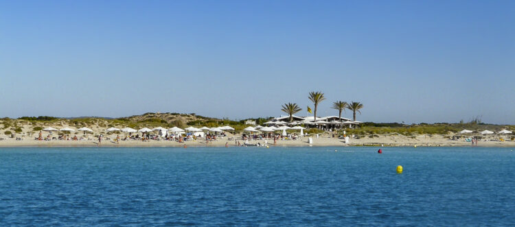 Ibiza - klein, reich und schön: Strand Formentera