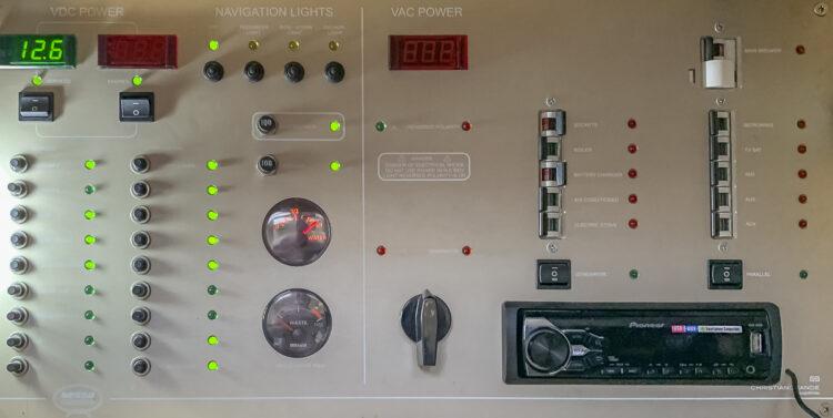 Strom-Management / Stromverbrauch auf einem Boot oder einer Yacht: Sicherungen