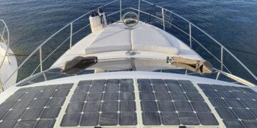 Strom-Management / Stromverbrauch auf einem Boot oder einer Yacht: Solaranlage