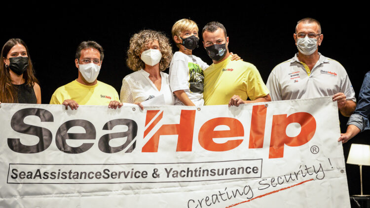 SeaHelp supports action for a good cause (collecting donations for the children's cancer ward in Barcelona): Swimming from Mallorca to Barcelona