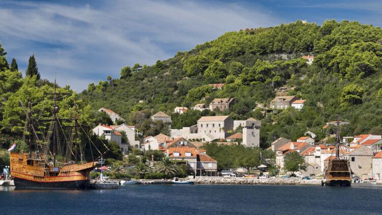 Kroatien mit der Yacht: Törn-Tipp Elaphiten - Sipan