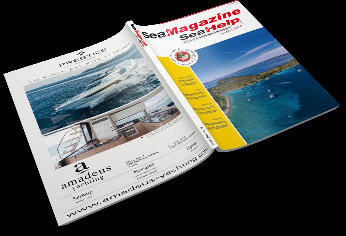 SeaMagazine Anzeige 1/1 Seite - Umschlag (Beispiel U4)