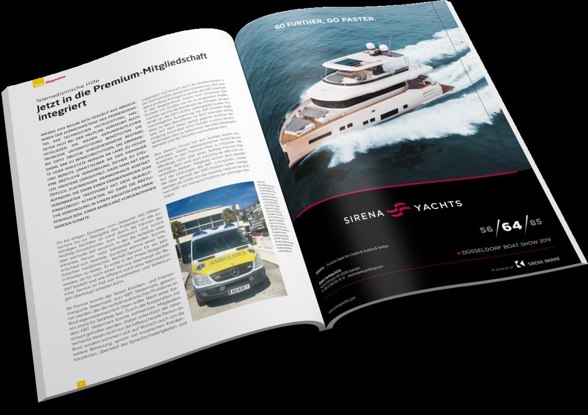 SeaMagazine Anzeige 1/1 Seite - Innen