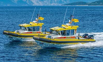 SeaHelp - kostenlose Anfahrt zum Havarieort