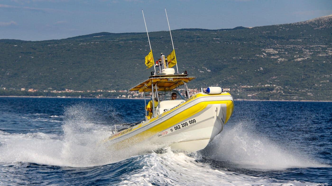 SeaHelp Einsatzboote der ersten Generation