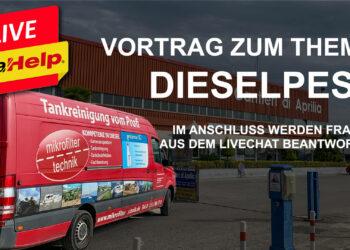 SeaHelp Livestream: Vortrag zum Thema Dieselpest
