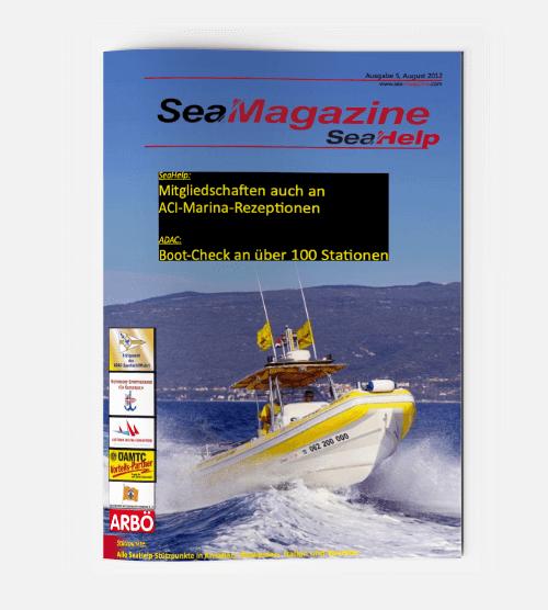 SeaHelp SeaMagazine 2012 DE