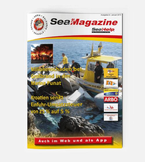 SeaHelp SeaMagazine 2013 DE