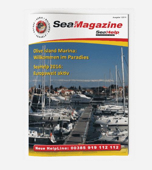 SeaHelp SeaMagazine 2014 DE