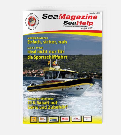 SeaHelp SeaMagazine 2015 DE