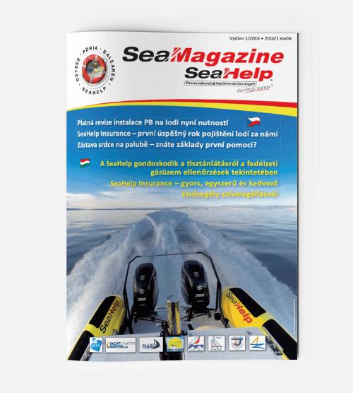 SeaHelp SeaMagazine 2016 CS HU