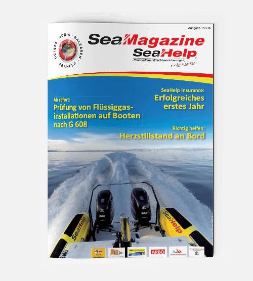 SeaHelp SeaMagazine 2016 DE