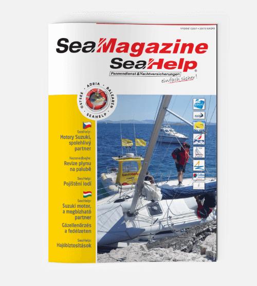 SeaHelp SeaMagazine 2017 CS HU